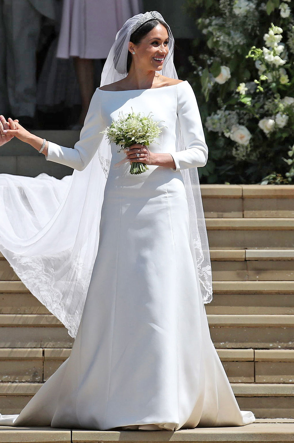 47459f2772ef53 Soon You'll Be Able to Visit Meghan Markle's Wedding Dress - BellaVitaStyle